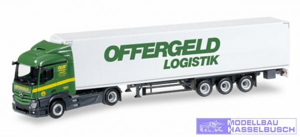 "Mercedes-Benz Actros Streamspace Kühlkoffer-Sattelzug ""Offergeld"""