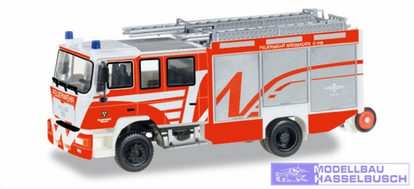 MAN M 2000 Löschfahrzeug Feuerwehr Wiesbaden