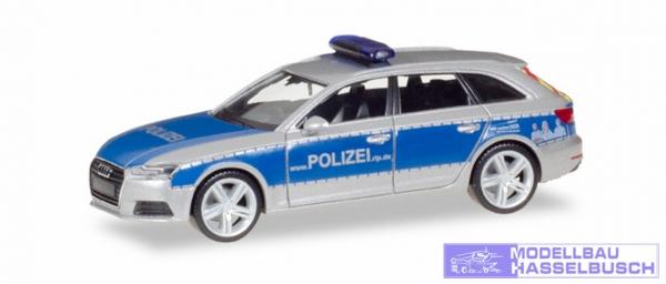 Audi A4 Avant Polizei Rheinl