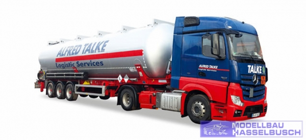 "Mercedes-Benz Actros Streamspace 2.3 ADR-Silo-Sattelzug ""Alfred Talke"""