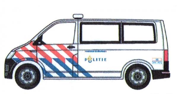 VW T6 Politie/Polizei Niederlande