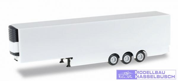 Schmitz Kühlkoffer-Auflieger mit Verkleidung (weiß)