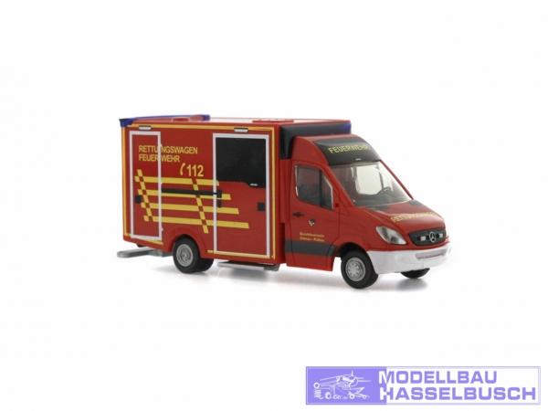 WAS Ambulanz Design-RTW Berufsfeuerwehr Dessau-Roßlau