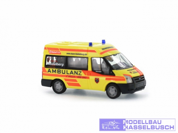 Ford Transit 06 Ambulanz Heidelberg
