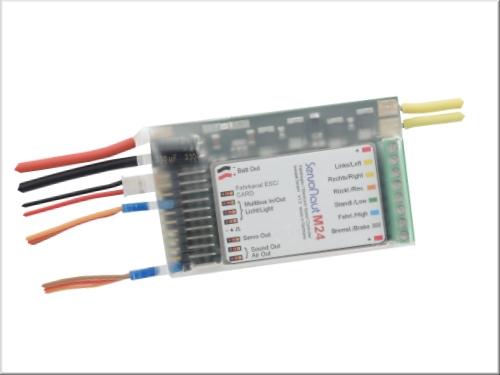 Servonaut M24 Fahrtregler mit Tempomat & Lichtanlage