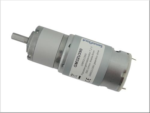 U390 Planetengetriebemotor 7,2 V 390 U/min