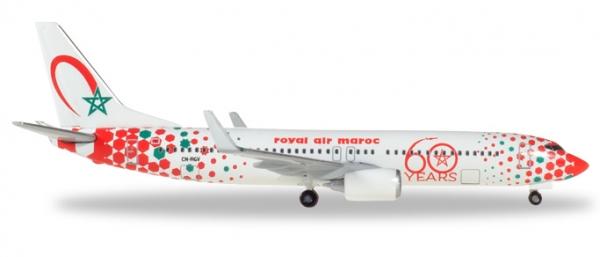 B737-800 Royal Air Maroc 60th