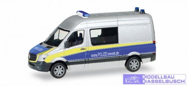 MB Sprinter Halbbus Polizei MV