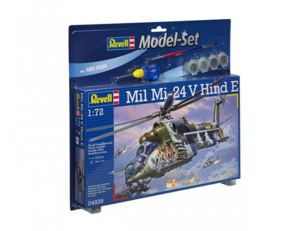 Revell Model Set Mil Mi-24V Hind E