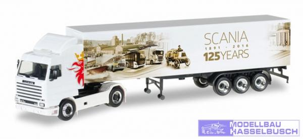 """Scania 143 SL Koffer-Sattelzug """"125 Jahre Scania"""""""
