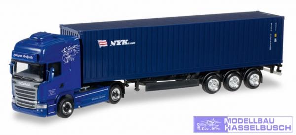 "Scania R TL Container-Sattelzug ""Jürgen Schmid Transporte / NYK"""
