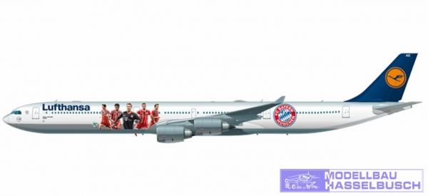 A340-600 Lufthansa FCB 2017