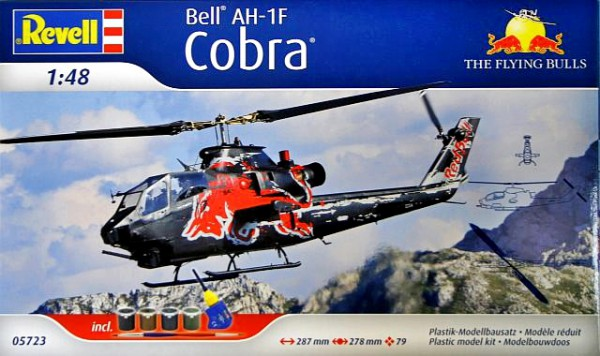 Revell AH-1F Cobra Flying Bulls