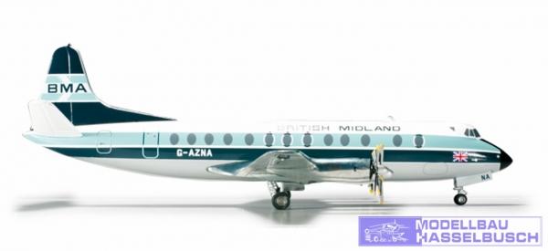 British Midland Airways Vickers Viscount 800