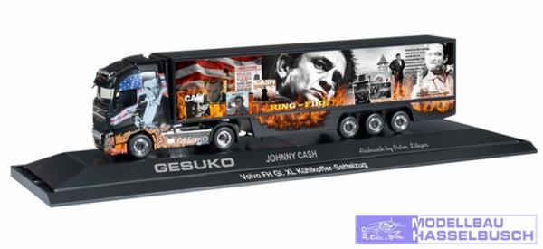"Volvo FH GL XL Kühlkoffer-Sattelzug ""Johnny Cash / Gesuko"""