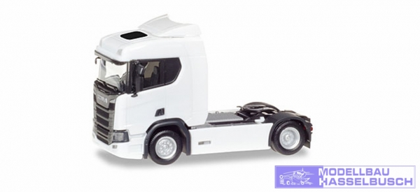 Scania CR20 ND Zgm, weiß