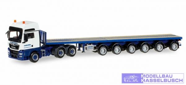"MAN TGX XXL o 6 6x4 Ballasttrailer-Sattelzug ""Wasel Krane"""