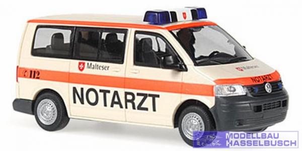 VW T5 Transporter Bus Notarzt Malteser Vechta