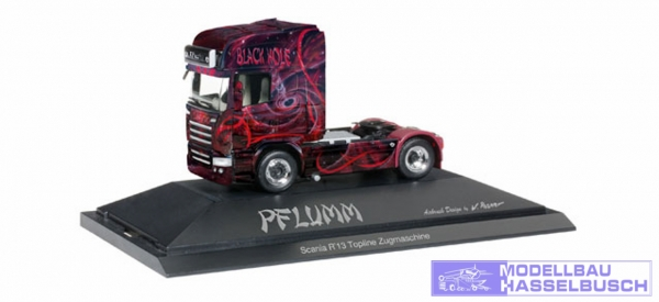 "Scania R HL ""The Black Hole / Pflumm"""