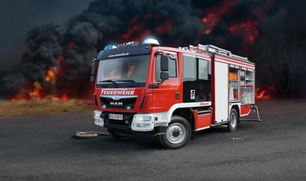 Feuerwehr MAN TGM / Schlingmann HLF 20 VARUS 4x4