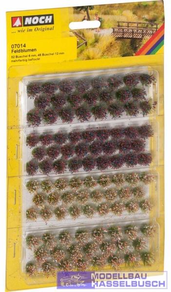 Grasbüschel Wildblumen