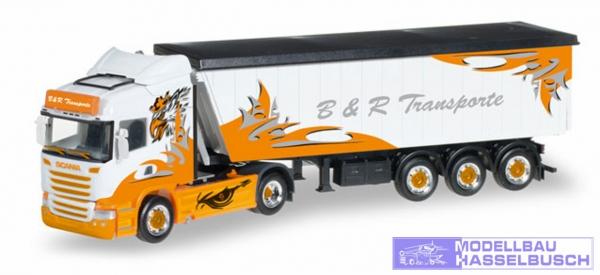 "Scania R HL Stöffelliner-Sattelzug ""B&R Transporte / Arrow Hunter"""