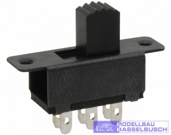 SS3 - Schiebeschalter, ON-ON, 23 mm
