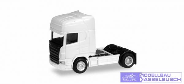 TT/Scania R TL Zugm. weiß SPUR TT (1:120)
