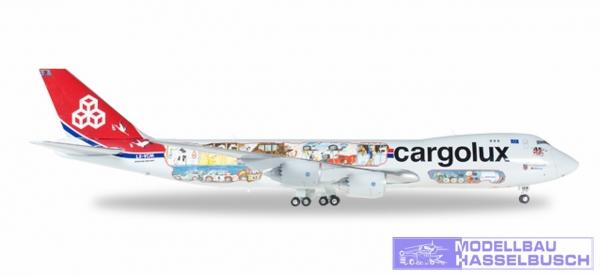 B747-8F Cargolux 45th-Cutaway