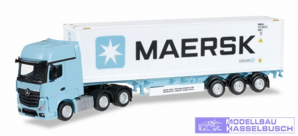 "Mercedes-Benz Actros Gigaspace 6x2 Container-Sattelzug ""Maersk"""