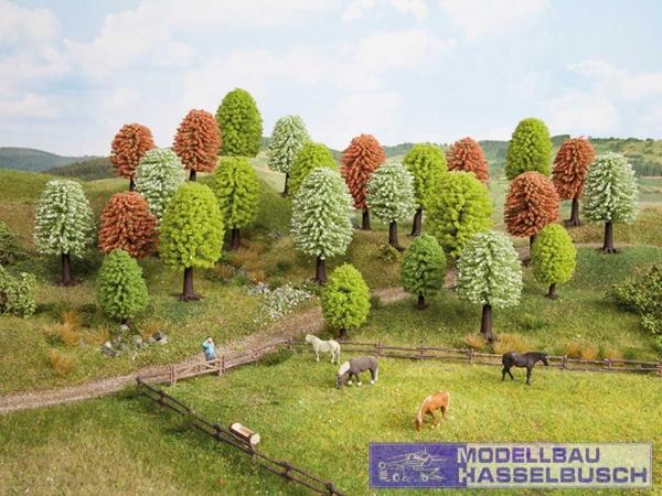 Frühlingsbäume, 25 Stück, 5 - 9 cm hoch