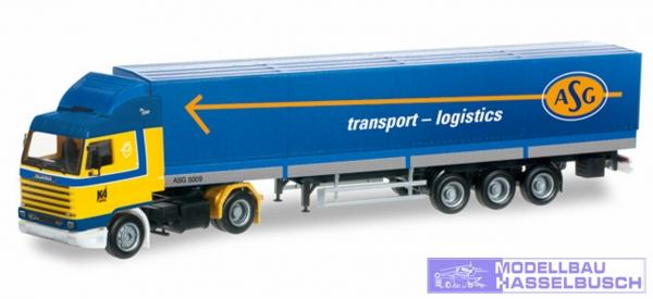 "Scania 143 Streamline Gardinenplanen-Sattelzug ""ASG"" (S)"