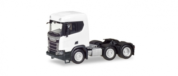 Scania CR XT ND BauZgm 3a,weiß