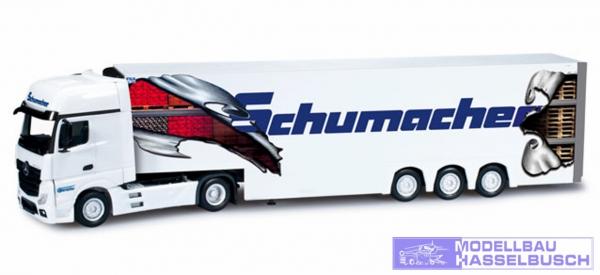 "Mercedes-Benz Actros Gigaspace Kühlkoffer-Sattelzug ""Schumacher"""