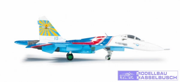 SU-27 Russian Knights No10