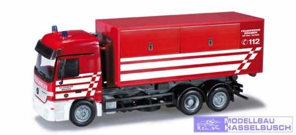 Mercedes-Benz Actros L Abrollcontainer-LKW Feuerwehr Bremen