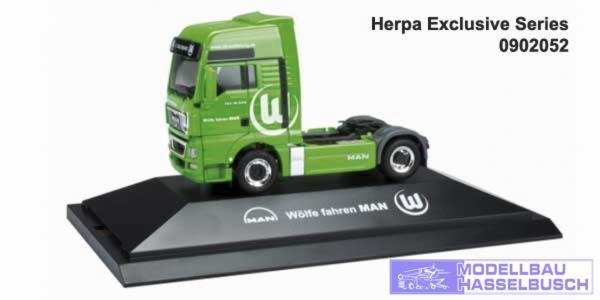 MAN TGX XXL 18.540 SZ, PC-Box VFL Wolfsburg
