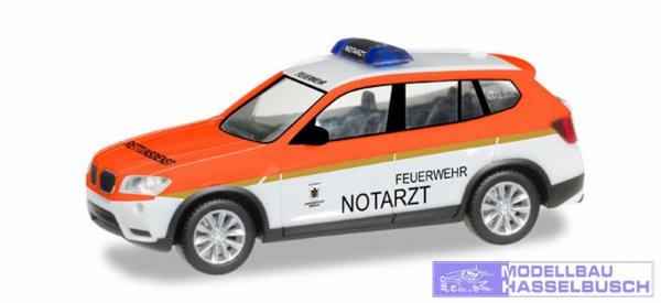 BMW X3 FW München/Notarzt
