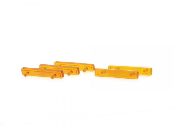 LED Balken für Pkw orange (5 Stück)