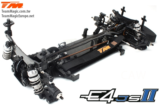 Auto - 1/10 Elektrisch - 4WD Touring - Team Magic E4JS II Bausatz