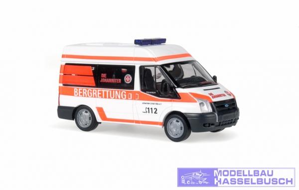 Ford Transit 06 Die Johanniter Bergrettung