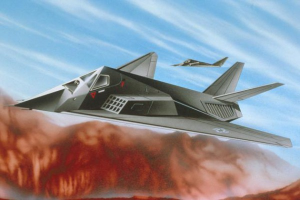 Revell Model Set F-117 Stealth Fight