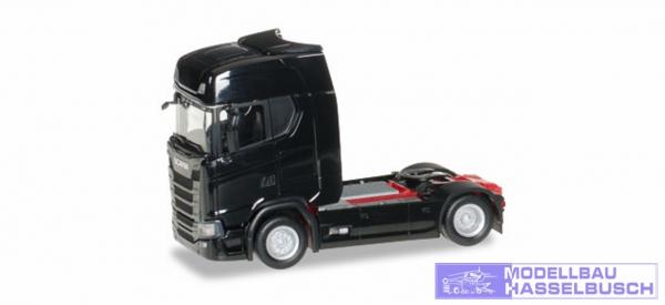 Scania CS20 Zugmaschine, schwarz