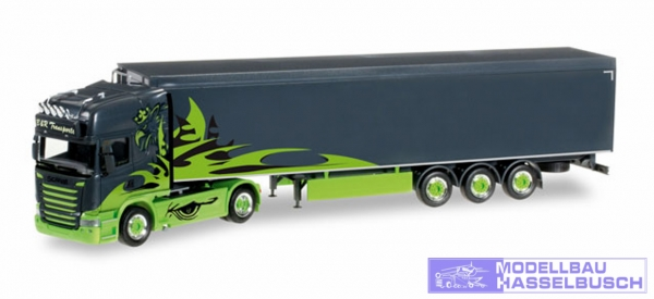 "Scania R Schubboden-Sattelzug ""Poison Arrow / B&R Transporte"""