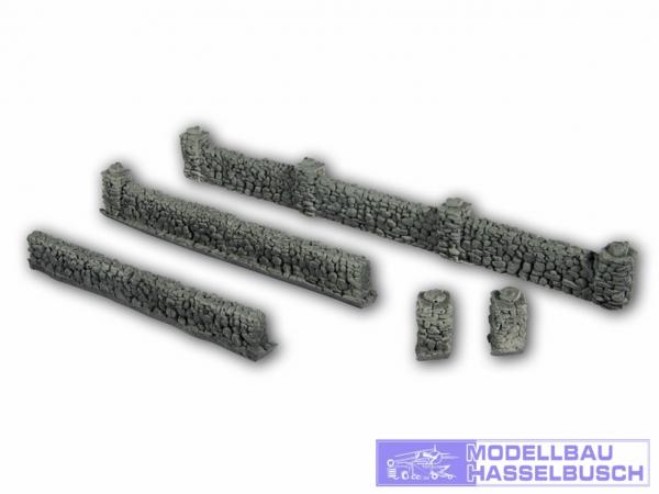 Mauern aus Basalt - H0