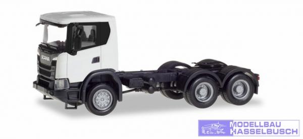 Scania CG 17 6x6 Zugmaschine, weiߠ
