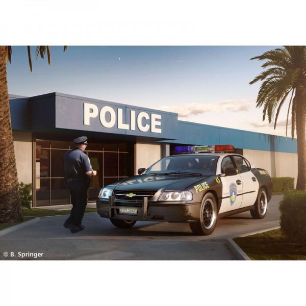 Revell Chevy Impala Police Car