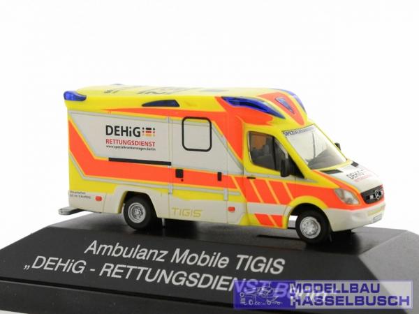 Ambulanz Mobile Tigis Ergo DEHiG Rettungsdienst Berlin