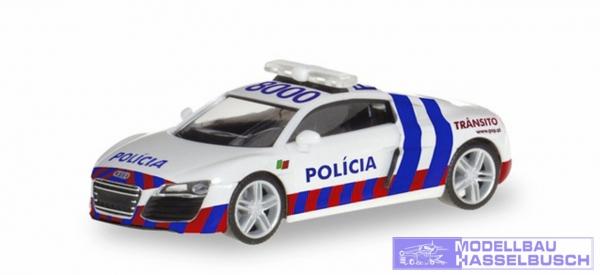Audi R8, Policia