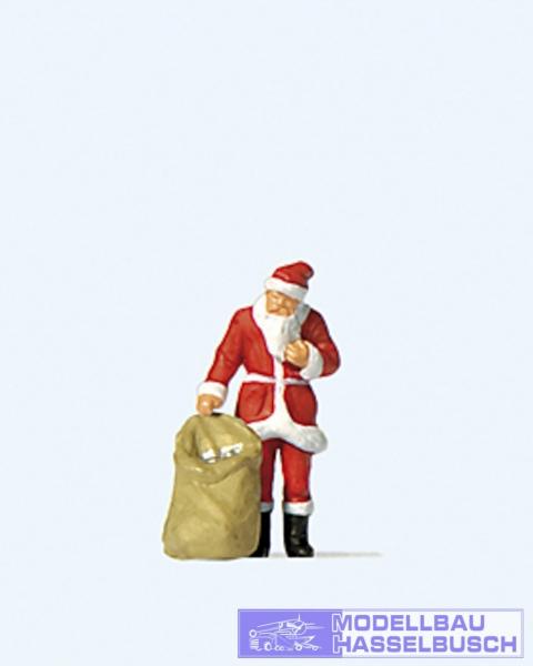 Weihnachtsmann mit Gabensack